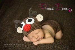 Neugeborenen Outfit Weihnachten X-Mas Santa Claus Set Outfit Haarband Mütze Hose Rompe Stirnband Weihnachtsoutfit Weihnachtsset Baby Neugeborene Newborn Prop Requisiten Foto-Set,Neugeborenen Outfit Mädchen Neugeborenenfotografie Kleidung für Mädchen Junge