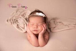 Newborn neugeborenen Baby Mädchen Haarband Natural Haarbänder Natürlich babyfotografie babyshooting requisten outfit Foto set Naturpieces Naturalband