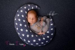 Mondset Photoprop Newbornphotography Neugeborenenfoto Samt Mond Kissen weichen Halbmond Sterne geformt Kinderzimmer Kissen Babys, Kinder, wunderschöne weichen Mond für Babys Newborn Requisiten Fotografie Props photoprop neugeborenenfoto Set