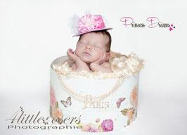wunderschöne Vintage Spitzen Hut, für Neugeborene baby Haarband, einmalige Aufnahmen Fotografie, Neugeborenenfotograf, Neugeborenenfotografie, Fotoaccessoires,