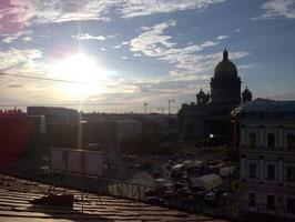 Isaaksplatz, Ansicht vom Dach