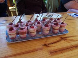 Fraîcheur fruitée à la rhubarbe