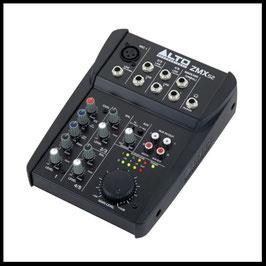 Mischpult mieten verleih Alex Light and Sound Kompakter 5 Kanal Mixer