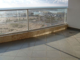 Balcon spacieux