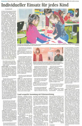 Interview mit der Schulleitung über Unterricht in der Coronazeit.