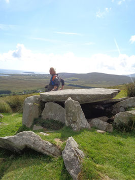 """ The Magic of Ireland ""  Achill Island megalithic tombs"