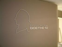 Praxis-Beschilderung Frankfurt