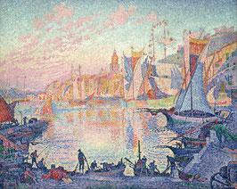 Le port de Saint-Tropez, Paul Signac - 1901/1902