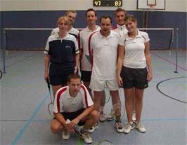 3.Mannschaft v.l.: Kirsten Steinhage, Martin Raulfs, Jan Stratmann, Andreas Häger, Aljoscha Schlicht und Nora Kathmann