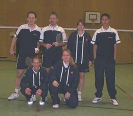 5.Mannschaft v.l.: Frank Windgassen, Daniela Blaß, Ha-Pe.Ziegner, Melanie Blankennagel, ?, und ?