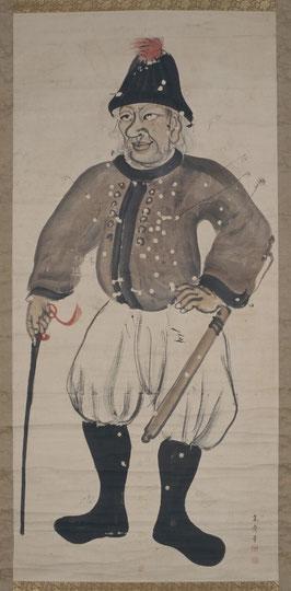人体的異人図(京都大学附属図書館所蔵)