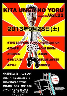 北運河の夜22―The Sapporo Funk Organizaition