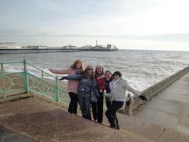 Brighton - the beach