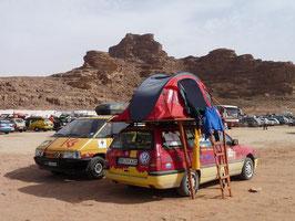Kurze Nacht im Camp Wadi Rum