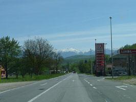 Überwaeltıgende Montenegrınısche Bergwelt
