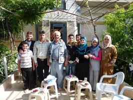 Unsere Gastfamilie: die Hadidis!