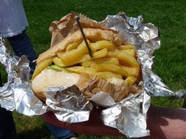 ...und ihre Nahrung: mazedonischer Hamburger