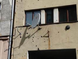 Immernoch Kriegsschaeden: Sarajevo
