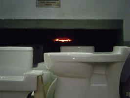 Les flammes du four