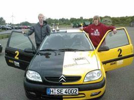 Unsere erfolgreichen SE Cup Piloten. Marvin Schmidt und Dennis Schiemann (v.l.n.r)