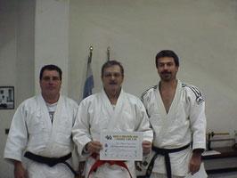 M. Bergami, M.A: Russo y R.D. González en Curso FCJ 2004