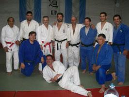 Algunos participantes Curso CAJ 2006 en Córdoba: J. Llanos, A. Acuña, M.A. Russo, R.D. González, J. Antún, S. Tignani, H. Segura, D. González, G. Lucas, M. Bergami y R. Páez