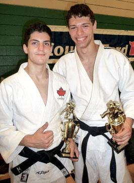 Anthony Pépin et Olivier Gobeil St-Amand Programme sport-études 2008-2015