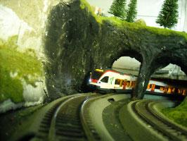 Die Modelleisenbahn Anlage des (MEBCB)