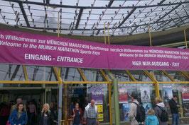 Eingang Marathonmesse
