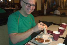 Chefs Marathonfrühstück- Weißwurst mit Bretzn