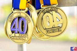 40. Leipzig Marathon am 24.04.2016 von Chef und René D.