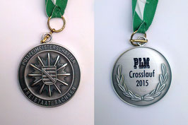 13. Polizeilandesmeisterschaft im Crosslauf am 10.09.2015 - 2.Platz AK M35 von René