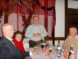 l.-r.  Klaus Fritz, Trudel Balb, Hans Balb, Hermann Wessel