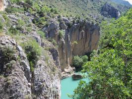 Schlucht des Rio Esera