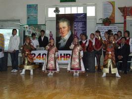 240 Jahre Humboldt: Geburtstagsfeier in unserer Schule