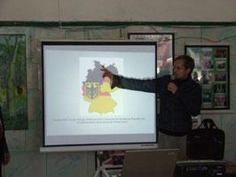 Thomas Dippe moderierte die Diskussion zum Thema 'Wiedervereinigung'.