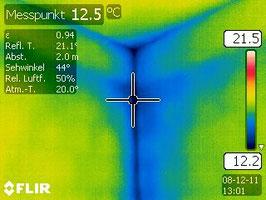 Thermographie Wärmebrücken
