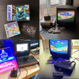 [Sonderfolgen] Videospiele-Erinnerungen, Pong Konsolen, Atari 2600, NES, C64, Game-Boy, Master-System