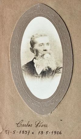Carlo Pesce, retrato, 1906