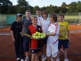 Tobias Dohmen, Patrick Müller, Daniel Deusen, Malik Topitsch, Florian Karst, Dennis Appelt, Christoph Schmidt