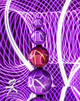 Lightpainting Lensball Lichtmalerei Glaskugelfotografie