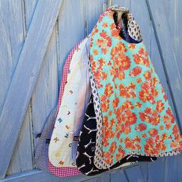 serviette coton a elastique artisanale pour enfant
