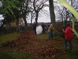 Der MGV pflegt das Holster Kriegerdenkmal