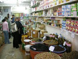 Gewürzladen in Hammamet, Tunesien