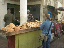 Bäckerei in Tozeur, Tunesien
