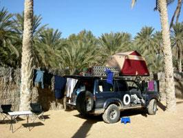 Camping Desert Club, Douz, Tunesien