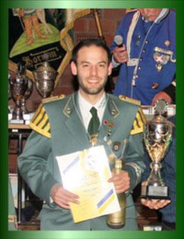 Siegerehrung Dr. Geldmacher Pokal Schießen 2018