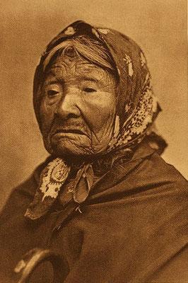 """Kikisoblu Princess Angeline"""" der Dumawish, eine Tochter von Chief Seattle 1896"""