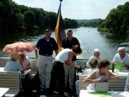 Sommerfest auf der Ruhr