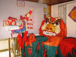 Dragon & Lion Dance costumes